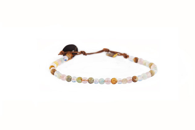 lotus & luna - Peace & Love 4mm Bracelet