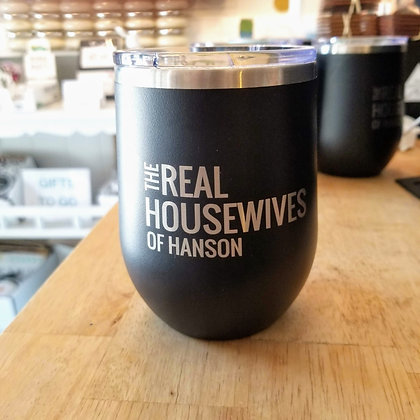 Real Housewives of Hanson Stainless Tumbler - Black