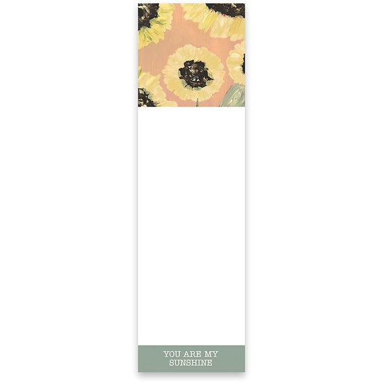 Magnetic Notepad - You Are My Sunshine