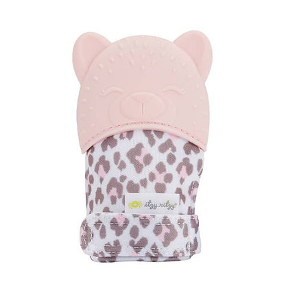 Itzy Mitt™ Silicone Teething Mitts - Leopard