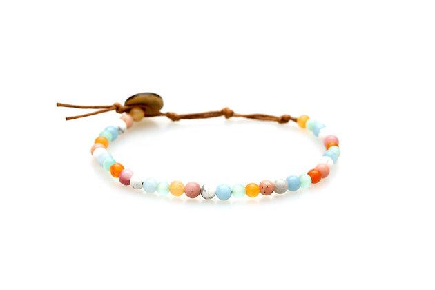 lotus & luna Inspiration & Inner Peace 4mm Bracelet