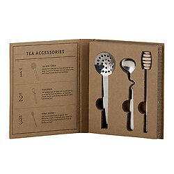 Cardboard Book Set - Tea Accessories