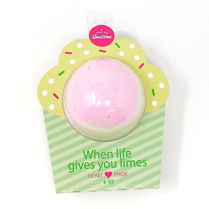 Bath Bomb - When Life Gives You Limes