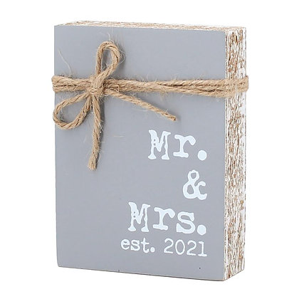 Mr. & Mrs. est. 2021