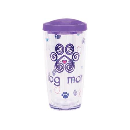 16oz Thermal Drinkware - Dog Mom