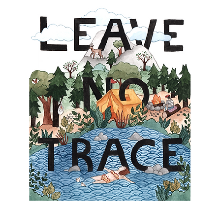 Artists to Watch Vinyl Sticker - Leave No Trace
