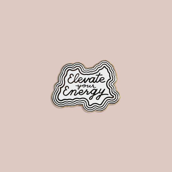 Elevate Your Energy Pin