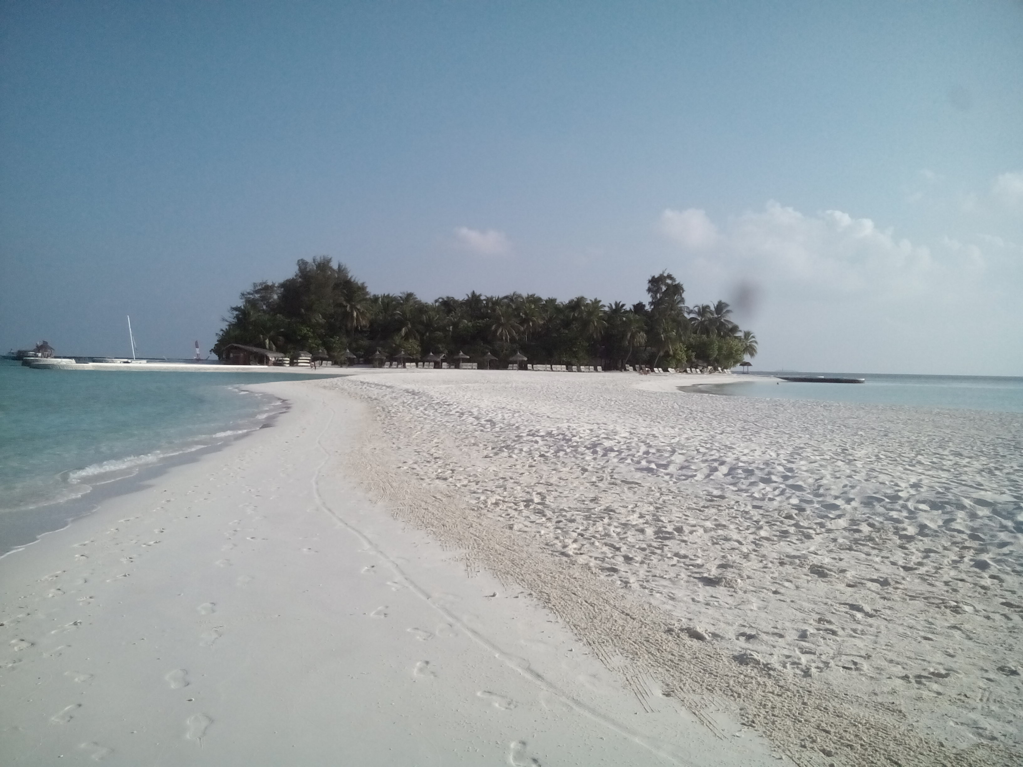 vista da lingua di sabbia
