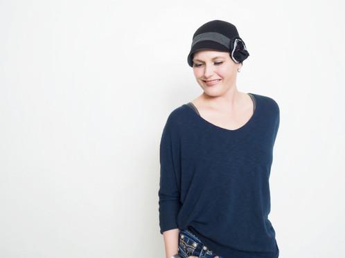 Black Cloche Hat Women Fashion Hat