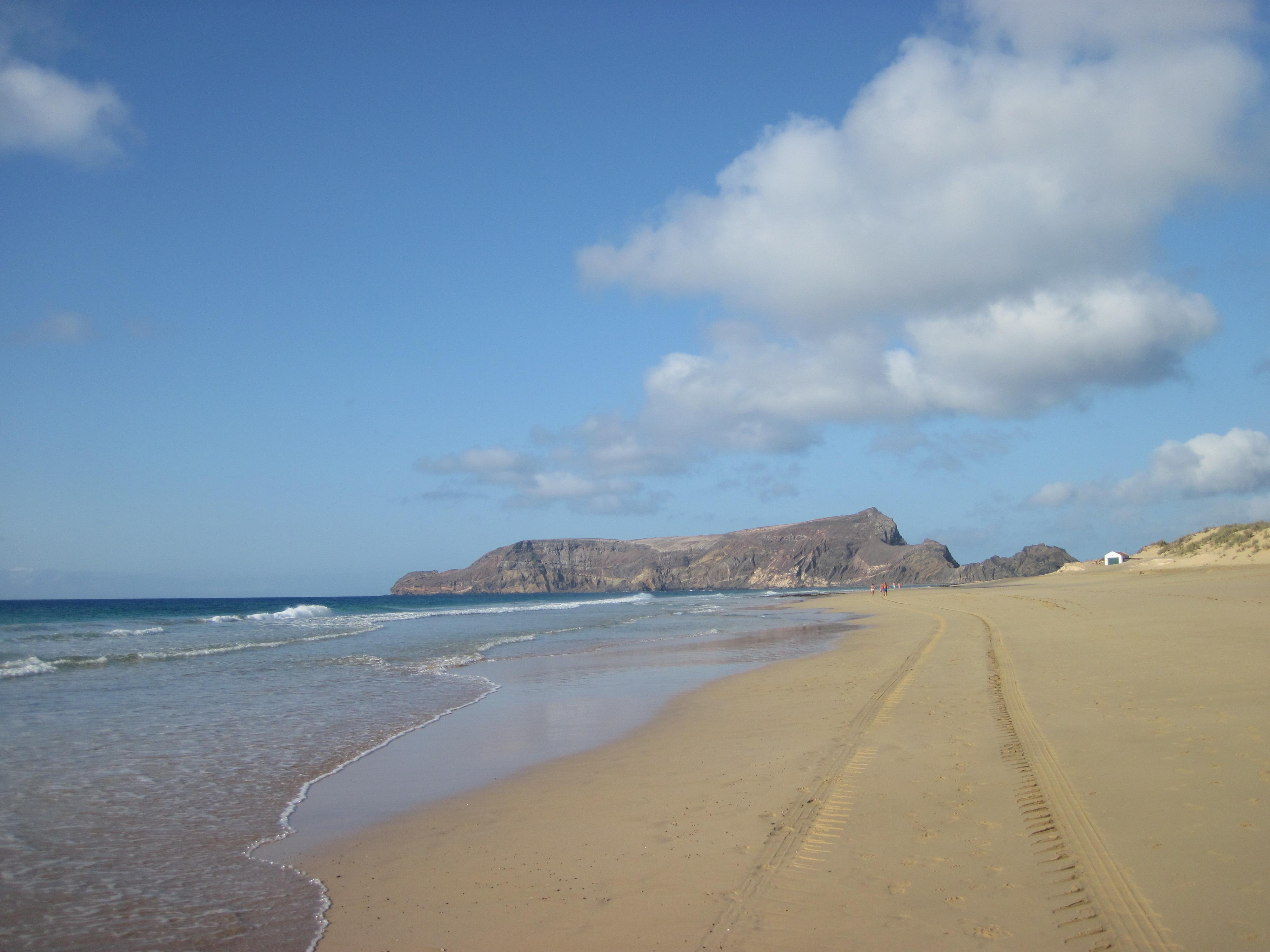 10 km di sabbia...