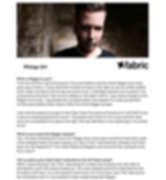 Interview with Fabric London