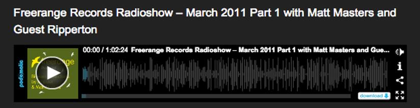 Philipp Ort in Freerange Radio Show