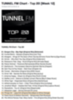 Tunnel FM chart