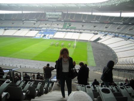 Visite au Stade de France