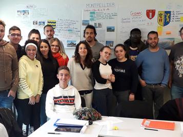 Ecole de la Citoyenneté CFA Occitanie du 29 avril au 3 mai 2019 à Paris