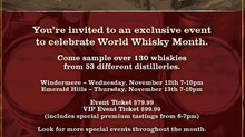 RARE DRAMS @ WINE & BEYOND ~ NOV 12&13