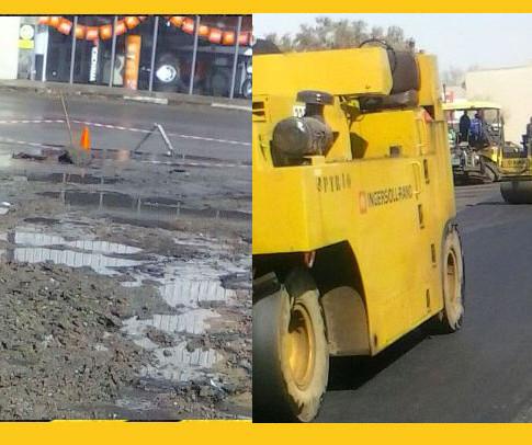 Asphalt parking area repairs in Centurion
