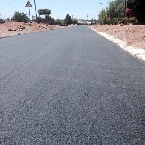 Large scale paver work in Garankuwa