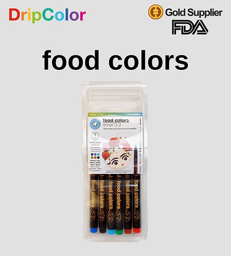 Food Colors Linners