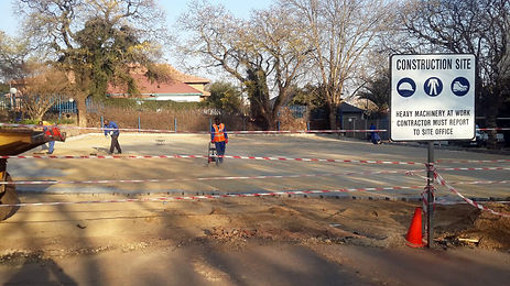 Paving contractor in Delmas and Cullinan