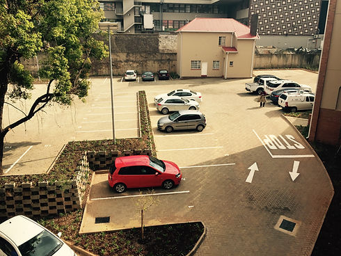 New parking area paving in johannesburg (JHB)