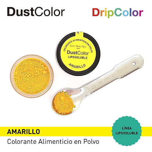 DustColor Liposoluble - Tonos AMARILLOS