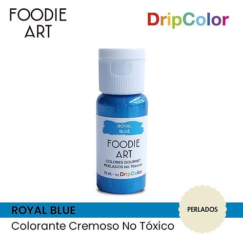 Foodie Art - Royal Blue
