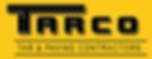 TARCO Logo image. Tar and paving contractors