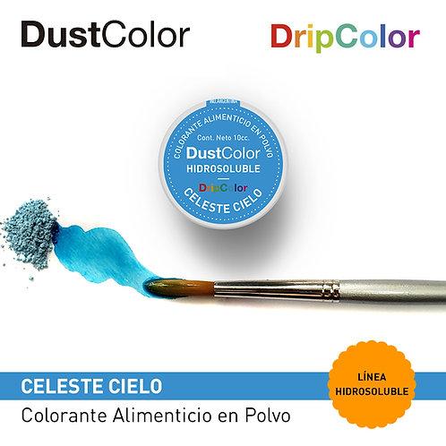 DustColor Hidrosoluble - Celeste Cielo