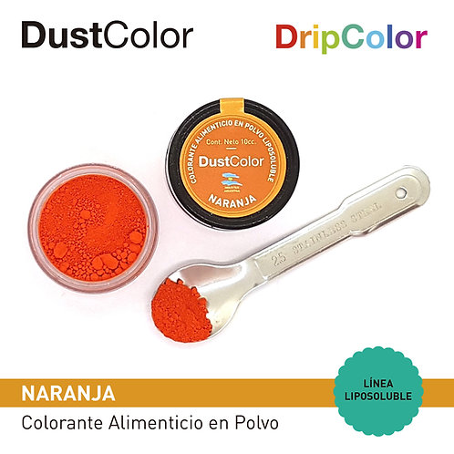 DustColor Liposoluble - Tonos ANARANJADOS