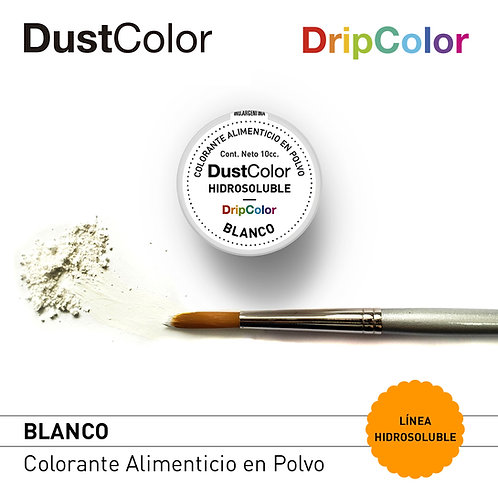 DustColor Hidrosoluble - Blanco