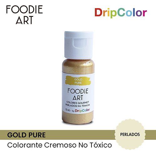 Foodie Art - Gold Pure