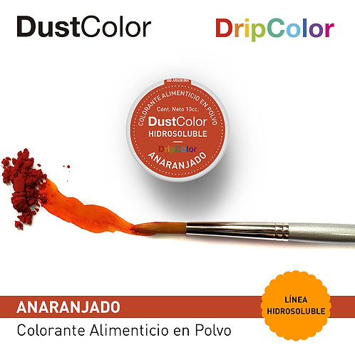 DustColor Hidrosoluble - Anaranjado