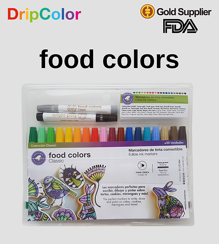 Food Colors - New Classic's