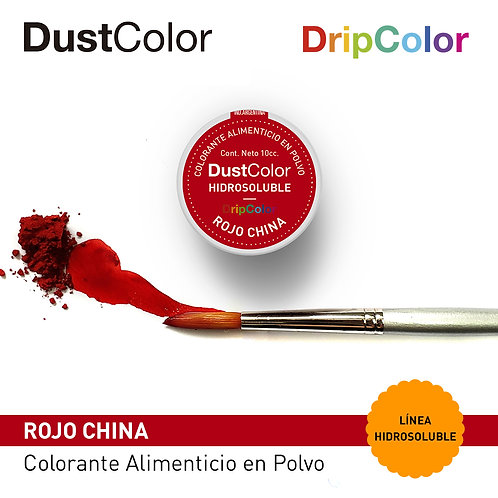 DustColor Hidrosoluble - Rojo China