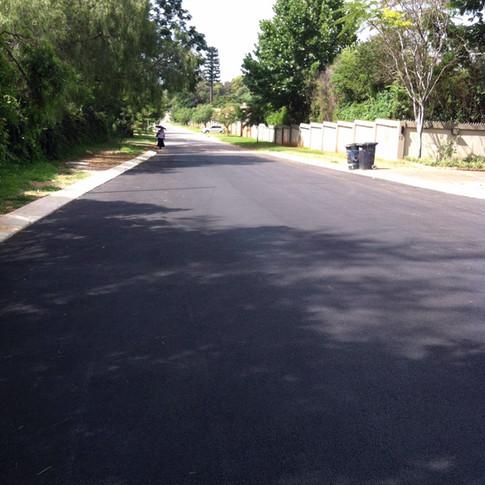 Lynnwood road repairs in Pretoria