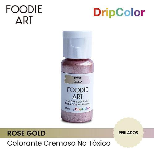 Foodie Art - Rose Gold