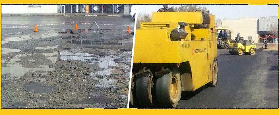 Pothole repairs in pretoria