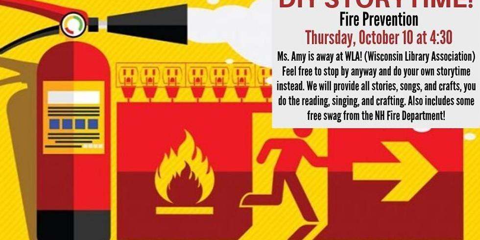 DIY Storytime: Fire Prevention
