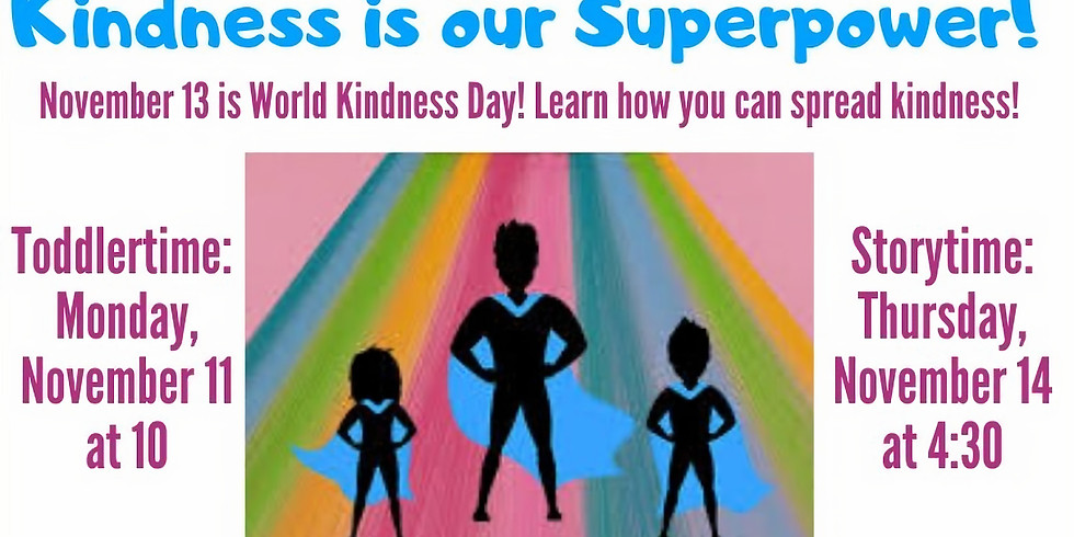 Kindness is our Superpower!