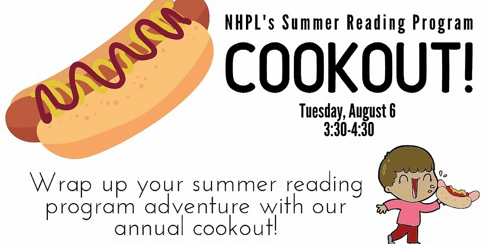 Summer Reading Program Cookout