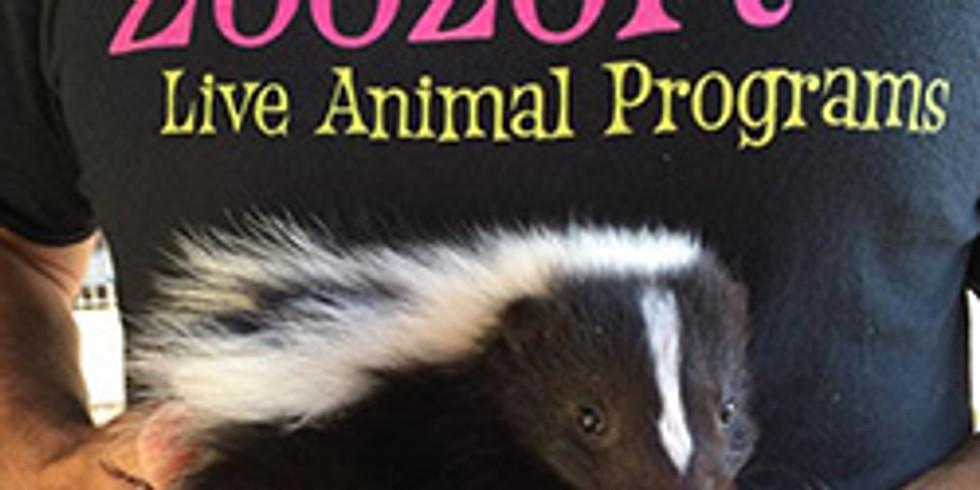 Explore Zoology: Zoozort Live Animal Show