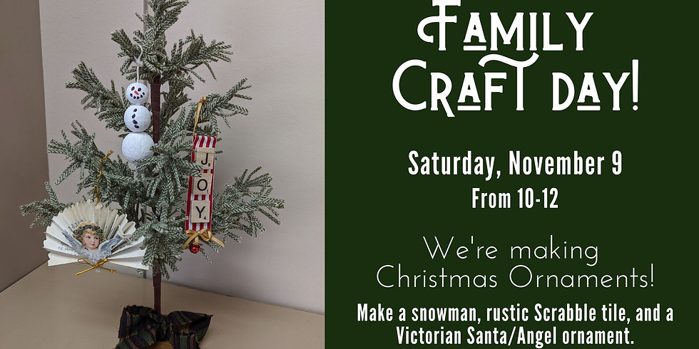 Family Craft Day!