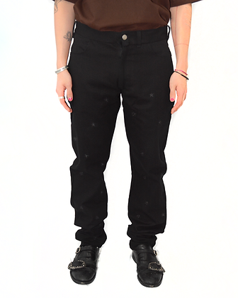 Star Pants - Tonal Black