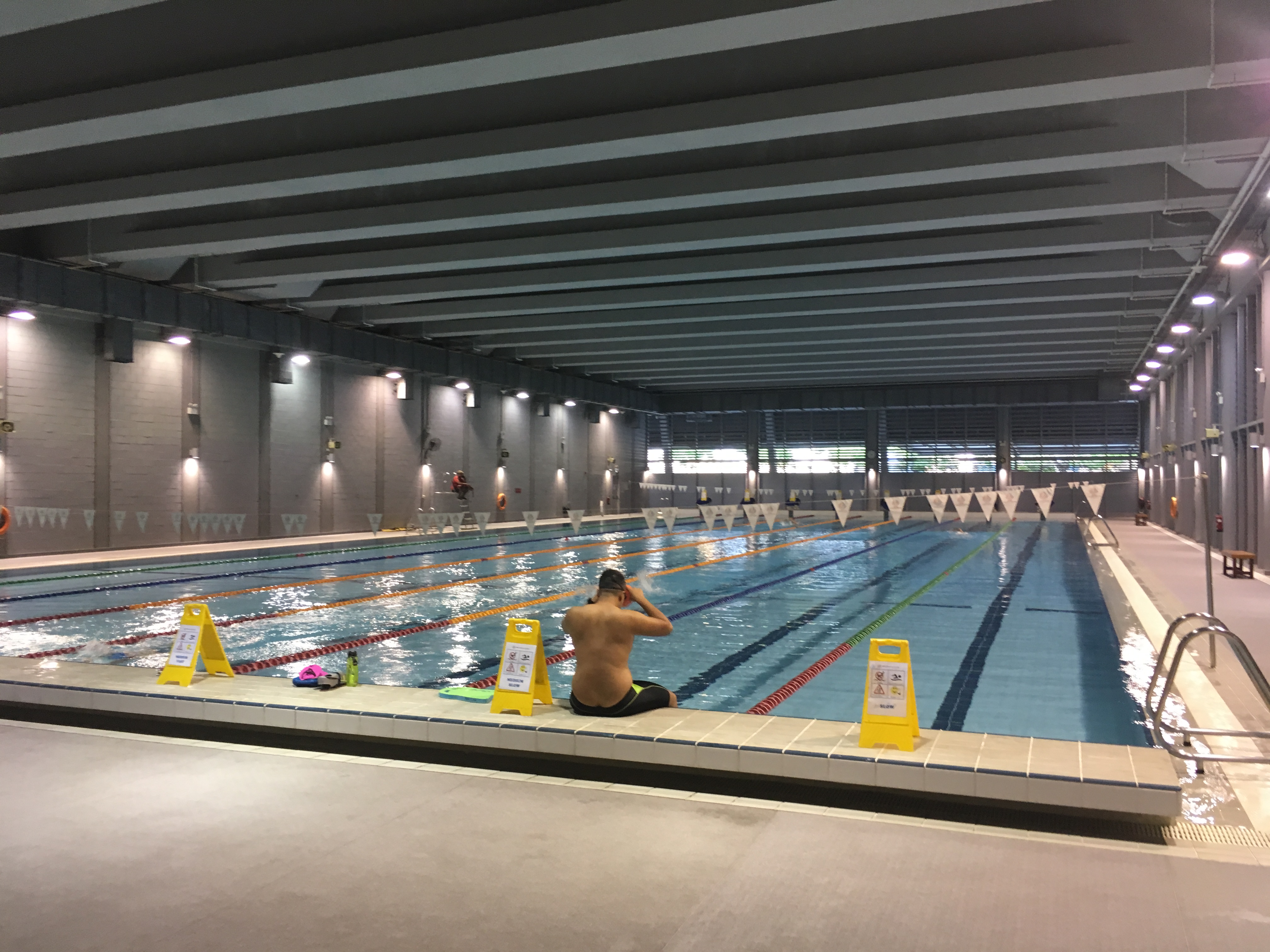 0369 - OCBC Aquatic Centre Training Pool - Singapore