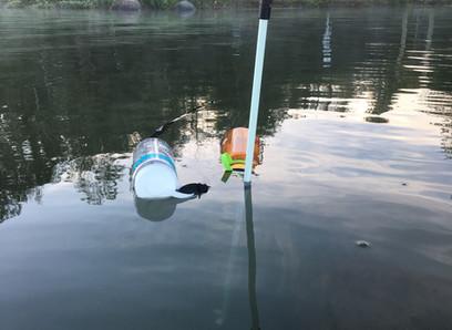 Rigging the Solo Marathon Water Stop