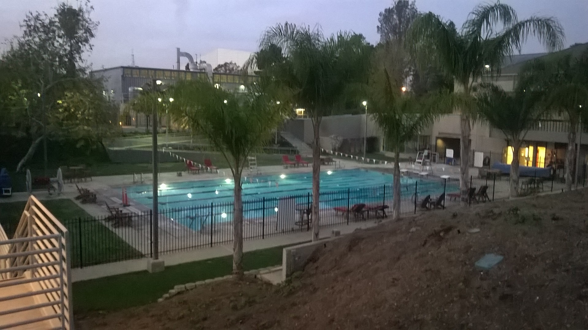 0228 - Cal State University Northridge Plaza Pool