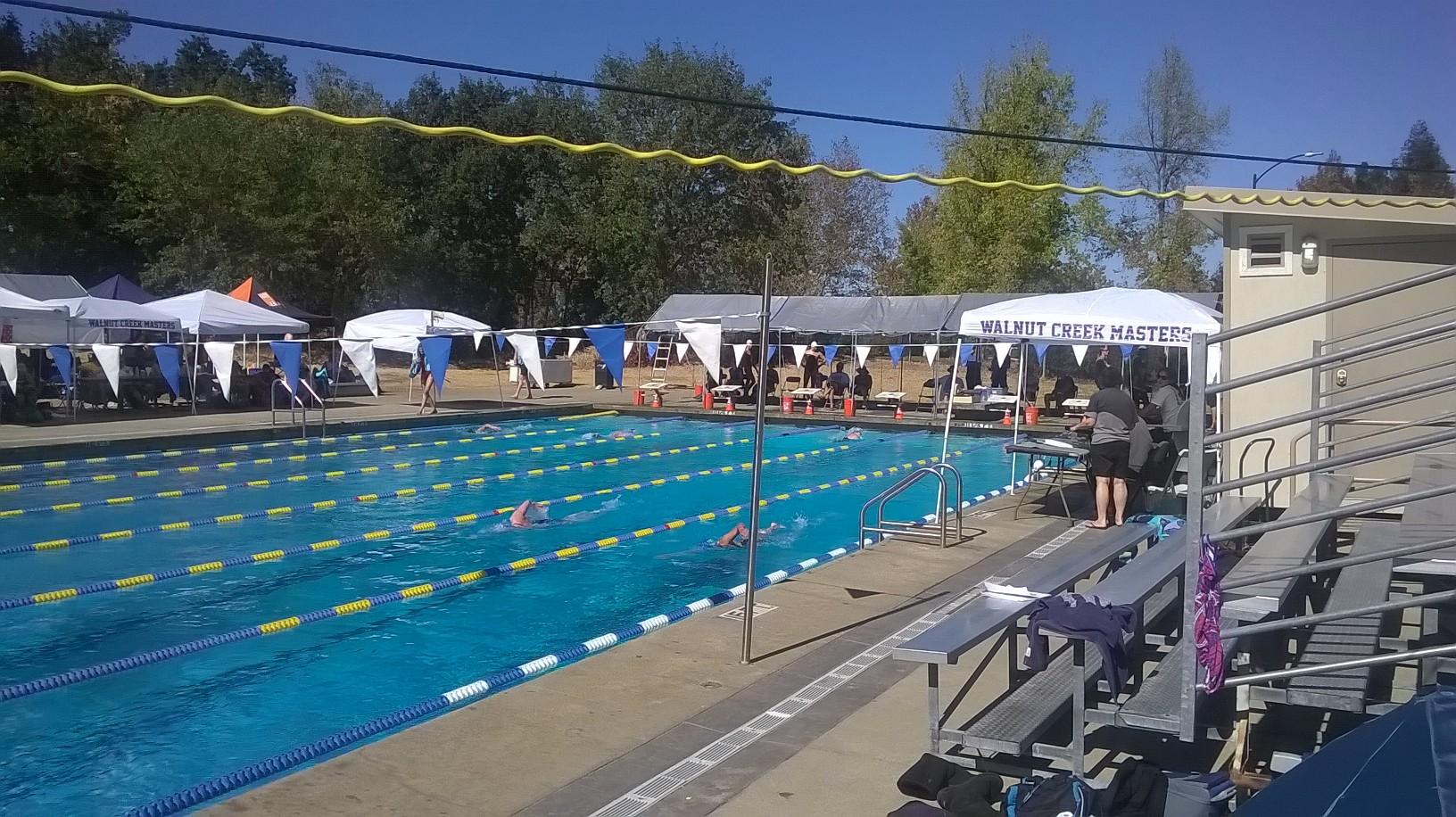 Walnut Creek SCM pool