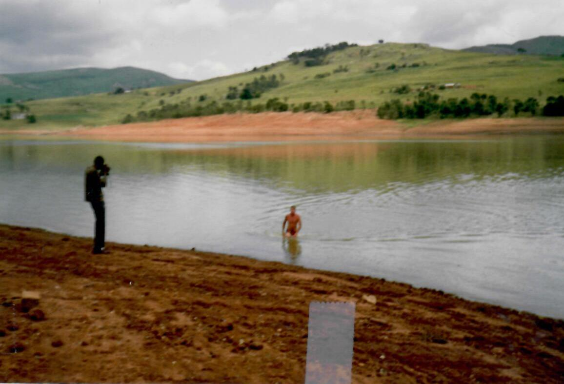 Swaziland - must find water must swim