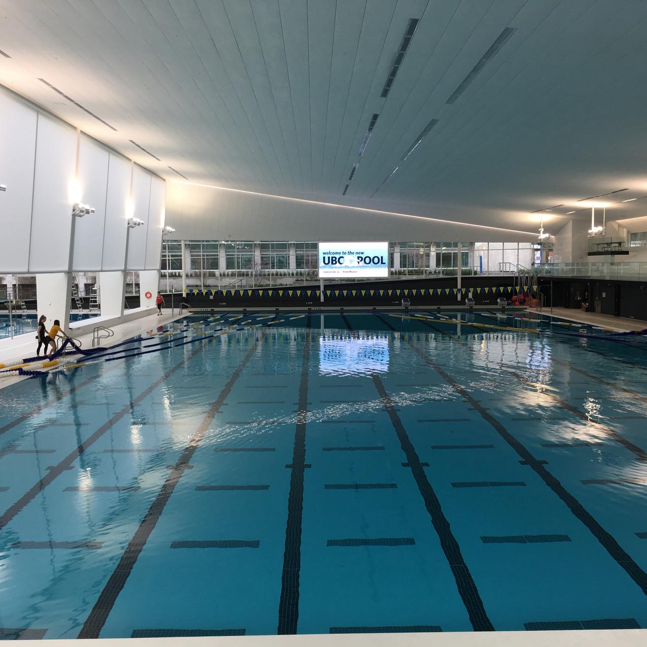 (Bonus) UBC Aquatic Centre